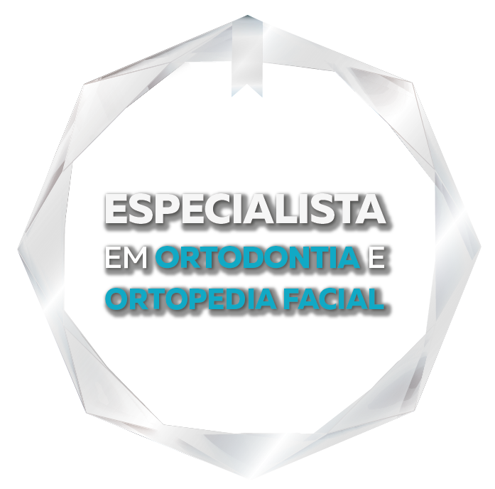 Selo Especialista em Ortodontia e Ortopedia Facial Aligner Studio