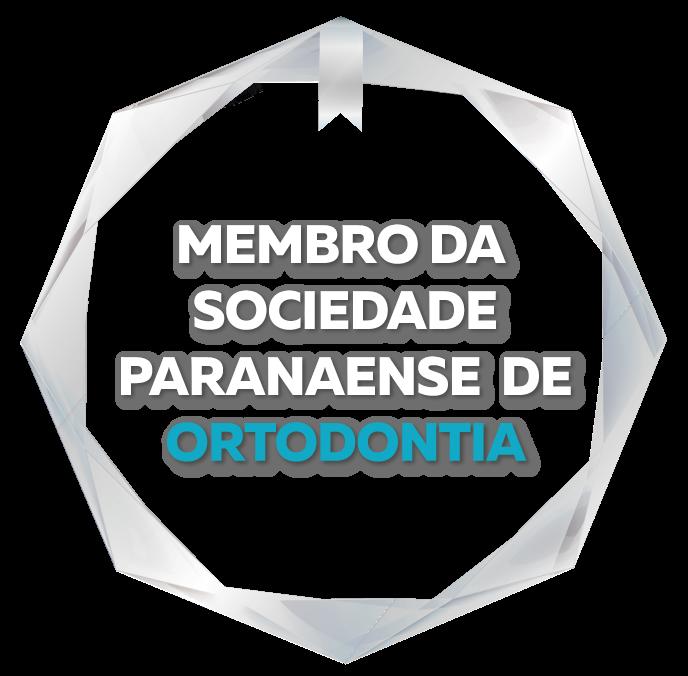 Selo Membro da Sociedade Paranaense de Ortodontia Aligner Studio